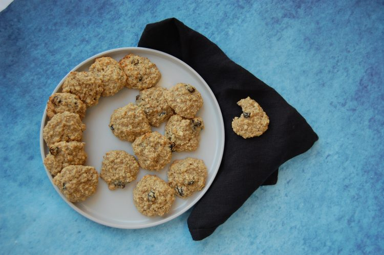 Sunde Havregryns cookies med banan