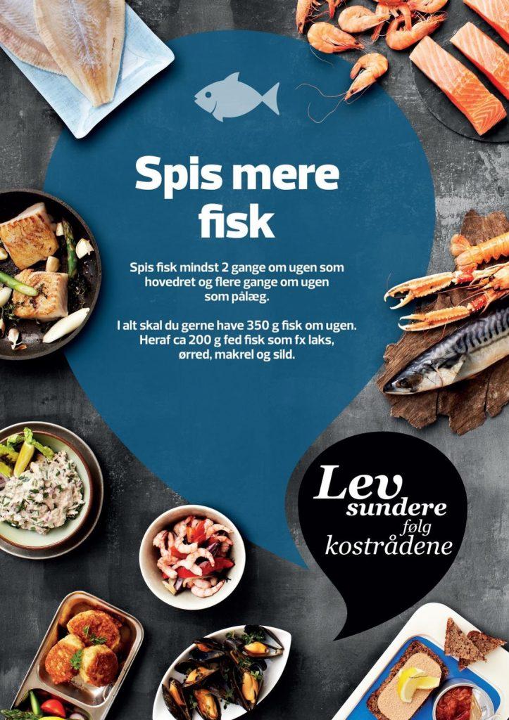 De officielle kostråd -Spis mere fisk